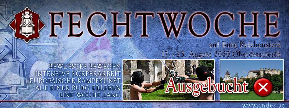 Fechtwoche 2020 @ Burg Reichenstein | Tragwein | Oberösterreich | Österreich