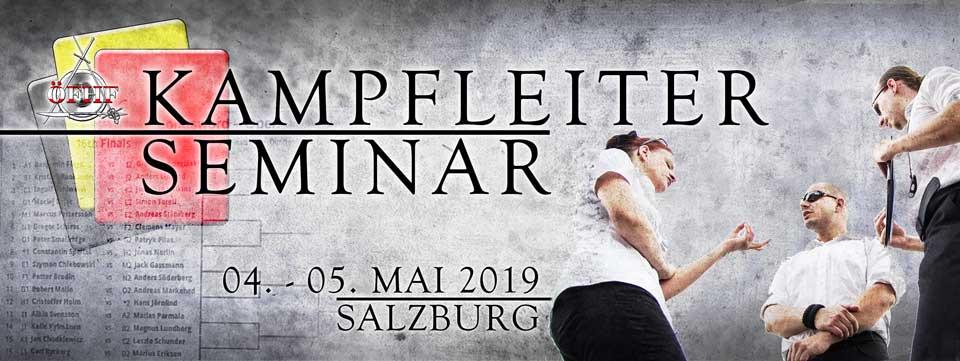 Kampfleiterseminar 2019 @ Hallen des Sportzentrum Mitte   Salzburg   Salzburg   Österreich