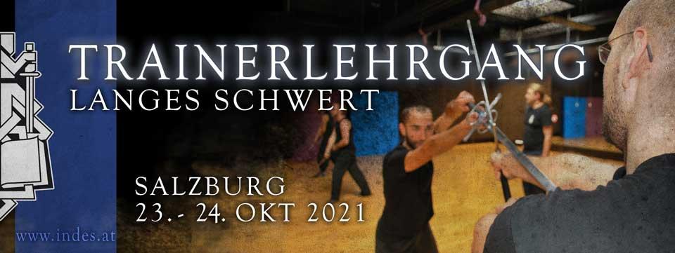 Trainerlehrgang Langes Schwert 2021 @ Sportzentrum Mitte | Salzburg | Salzburg | Österreich