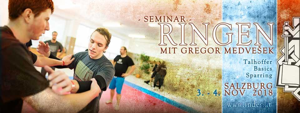 Seminar - Ringen mit Gregor Medvešek @ Sportzentrum Mitte | Salzburg | Salzburg | Österreich