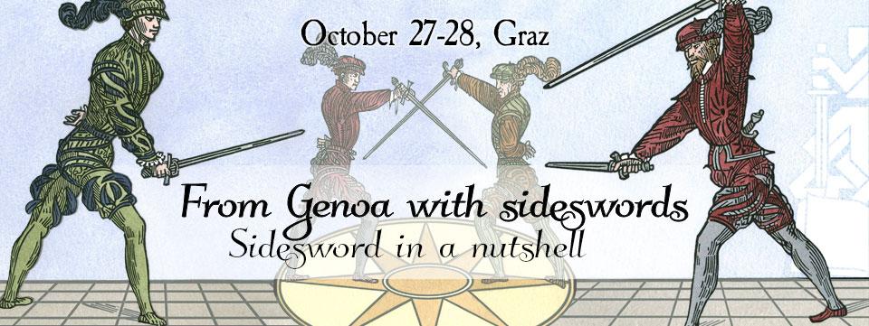 From Genoa with sideswords @ BORG Monsberger | Graz | Steiermark | Österreich