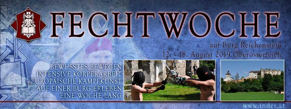 Fechtwoche 2019 @ Burg Reichenstein | Tragwein | Oberösterreich | Österreich