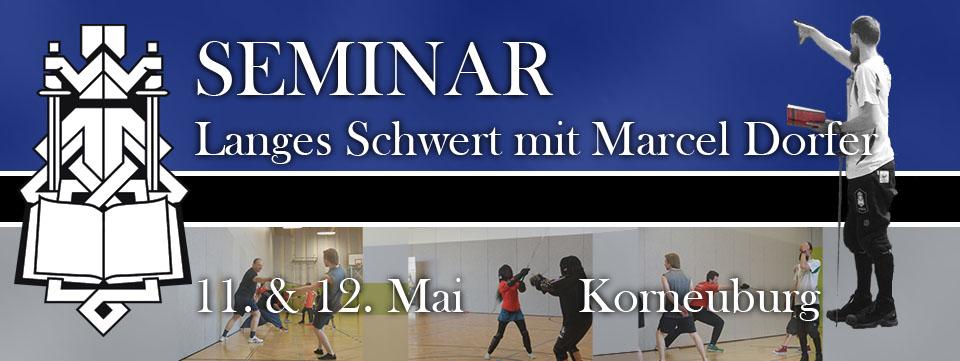 Schwertkampfseminar Korneuburg 2019 mit Marcel M. Dorfer @ AHS-Korneuburg | Korneuburg | Niederösterreich | Österreich