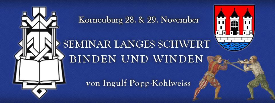 Seminar Langes Schwert Korneuburg @ AHS Korneuburg | Korneuburg | Niederösterreich | Österreich