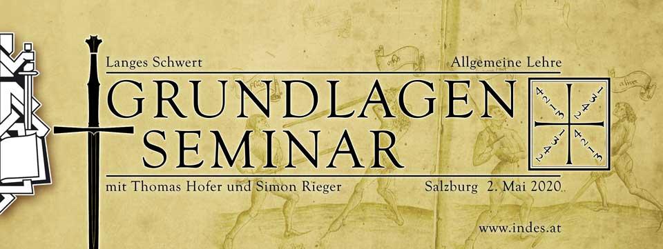 Seminar Grundlagen Langes Schwert SS2020 @ Turnhallen der NMS Nonntal | Salzburg | Salzburg | Österreich
