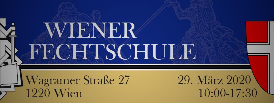 Wien, Wiener Fechtschule für's Lange Schwert @ Volksschule Wagramstraße