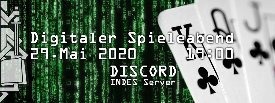Digitaler Spieleabend Salzburg - Nummer zwei @ INDES Discord Server